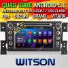 Coche DVD del androide 5.1 de Witson para Suzuki Vitara magnífico (W2-F9660X)