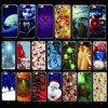 Caso del diseño TPU de la Navidad para el iPhone 7plus