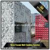 中国の工場販売のIneriorの装飾のクラッディングの粉の上塗を施してある正面の壁パネル