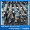 3 Cilinder van de Olie van Dia van de Buis van de duim de Hydraulische voor de Aanhangwagen van de Stortplaats