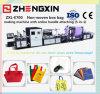 Chino llevando el bolso de compras no tejido que hace la máquina (ZXL-E700)
