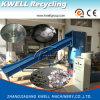 Machine/PE 알갱이로 만드는 밀어남 Line/PE 필름 쓰레기 압축 분쇄기를 덩어리로 만드는 플라스틱