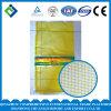 Мешок сетки желтого цвета L-Shaped с логосом клиента для Vegetables&Fruits