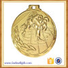 médaille faite sur commande de karaté d'or de fer du 2D souvenir 3D