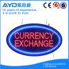 Muestra brillante oval del intercambio de dinero en circulación de Hidly alta LED