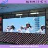 Binnen LEIDENE Vertoning die Digitale Elektronisch van het Aanplakbord voor Reclame P4 adverteert