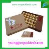 Cadre de empaquetage à chocolat de boîte en carton de boîte de cadeau de luxe d'impression