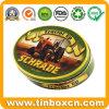 Ovaler Zinn-Kasten, verpackende Metallblechdose, Geschenk-Spielzeug-Zinn