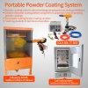 Kleine manuelle elektrostatische Farbanstrich-Zeile für Auto-Felgen