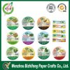 2014 nuevo Design Labels Uno Sided Adhesive Paper Fruit Sticker Label Paper para Promotion