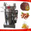 Máquina de la prensa de petróleo de coco del grano de café de la calabaza del cacahuete del sésamo del cacahuete