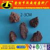 media de filtro de la roca volcánica de 3-5m m para el tratamiento de aguas