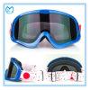 Anti lunettes réglables transparentes adultes de moto de courroie de glissade