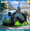 De verblindende Opblaasbare Tent van de Tentoonstelling van Inflatae van de Tent van de Koepel met LEIDEN Licht voor Gebeurtenis