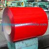 Bobina de acero galvanizada prepintada en frío del mercado de China