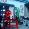 Equipamento de esmagamento móvel do triturador de maxila do uso da planta