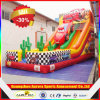 Design novo Largest Inflatable Car Slides, Inflatable Double Lane Slip Slide para Sale