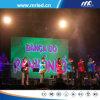 Schermo flessibile di musica di colore completo di HD P3.84 della fase dell'interno LED di concerto