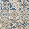 Bule esmaltó los azulejos de la decoración de la porcelana del final de Matt