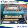 Завод обработки сточных вод обрабатывать молокозавода, блок Daf