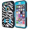 Phone móvil Accessories Zebra Pattern Caso Silicone Cover para iPhone6 Plus 5.5inch