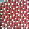 15X15X8m m Stone Mix Red Color Glass Mosaic (VMS230)