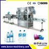 Máquina de etiquetado de la funda del encogimiento del PVC del animal doméstico de dos pistas para las botellas de la bebida