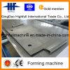 Precedente acciaio, rullo del piatto di anodo che forma macchina con materiale inossidabile