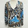 Projeto novo camisola feita malha do casaco de lã do jacquard para as senhoras (SOITSW-14)