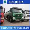Caminhão do depósito de gasolina dos pneus de HOWO 6X4 10 para a venda