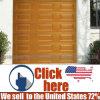 卸し売りガレージの部門別の装飾的なドア