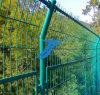 販売のための工場PVC上塗を施してある曲線の溶接された塀