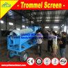 Lavatrice mobile dell'oro del Ghana per la miniera di oro alluvionale africana del Ghana