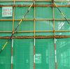 녹색 HDPE 비계 건축 안전망