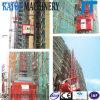 Doppio elevatore della costruzione di edifici delle gabbie di alta qualità Sc100/100 da vendere