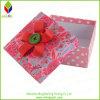 Caixa de presente de empacotamento dos doces de papel coloridos com tecla