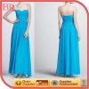 Azul Chiffon do vestido 2013 do baile de finalistas da noite