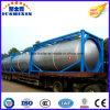 인도네시아 시장을%s 24000liters 20FT LPG/LNG 가스 프레임 콘테이너 유조선