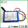 Полная производственная мощность 13000mAh батарея иона лития 3.7 вольтов