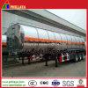 42000L 3axle de aluminio del tanque de combustible Semirremolque
