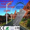 éclairage LED Integrated de la rue 70W solaire