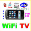WiFi TV Movil Celulares SIM dual, JAVA F006