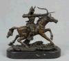 Het Standbeeld van het Cijfer van het Beeldhouwwerk van het brons (hyf-1093)