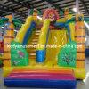 Скольжение замока потехи игрушки детей раздувное для парка малышей
