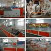 PE/PVC Wood Plastic Extruder Machine con CE y la ISO