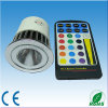 Éclairage d'E27/GU10/MR16 5W RVB LED, ampoule de RVB LED (OL-MR16-0501-RGB)
