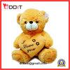 Urso do Valentim da peluche do luxuoso de 10 polegadas com eu te amo