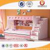 2016 het Comfortabele Houten Stapelbed Van uitstekende kwaliteit van Kinderen (ul-H859)