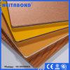 El panel compuesto plástico de aluminio del exterior 4m m Kynar 500 PVDF de la alta calidad