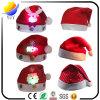 Sombrero que contellea de la decoración LED Papá Noel de la Navidad para los cabritos y los adultos (sombrero del ganchillo de la decoración de la venda del sombrero de la Navidad de la decoración de la Navidad)